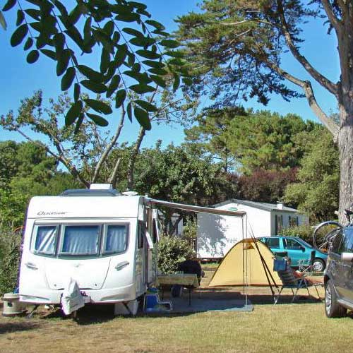 Pitches on campingsite 4 stars Royan Charente maritime France