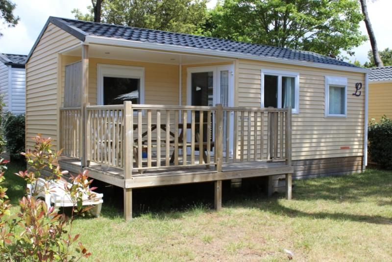 uk location mobil homes Grand Confort 2 camping Charente